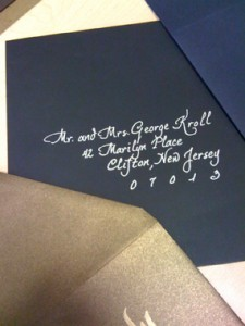 Invitation Calligraphy Boca Raton
