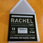 Boca Raton Bat Mitzvah Invitations