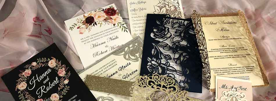 Boca Raton Calligrapher and Custom Invitations