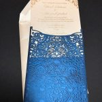 Laser cut Wedding Invitation by Charu