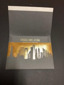 Skyline Wedding invitation by Charu