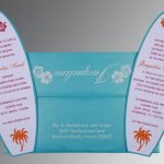 surfing bat mitzvah invitation by Charu